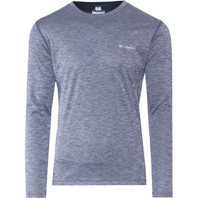 Columbia Zero Rules Jersey manga larga Hombre, carbon heather